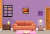 可爱紫色小屋逃脱