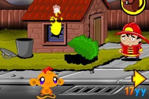逗小猴开心系列12:火灾现场