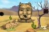 沙漠骆驼救援