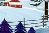 逃离雪中小屋