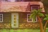 逃离土坯砌房子