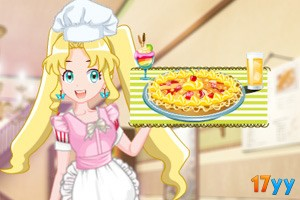 彩丽公主当厨师