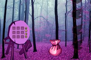 逃离梦幻紫色森林
