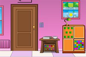 逃离粉红色调房屋