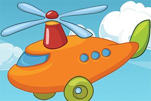 卡通直升机拼一拼无敌版