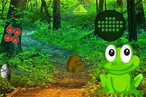 逃离巨蛙森林
