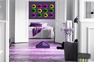 紫色温馨小屋逃脱