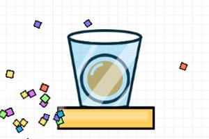 旋转的杯子