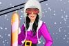 芭比冬季滑雪