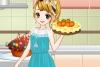 做蛋糕的女孩