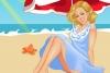 阳光海滩美女