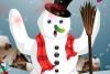 装扮雪人圣诞