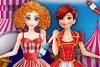 艾莎和安娜去马戏团