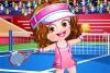 可爱宝贝的网球
