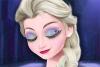 艾莎的眼妆
