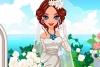 春风中的美丽新娘